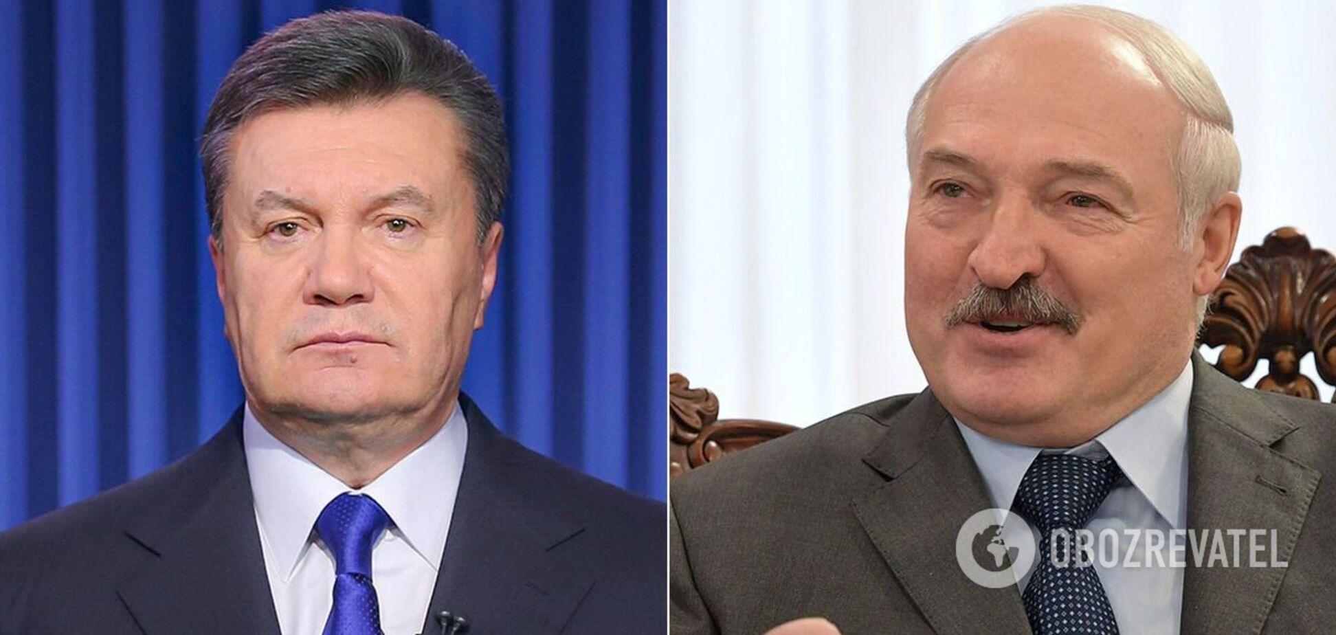 Віктор Янукович і Олександр Лукашенко
