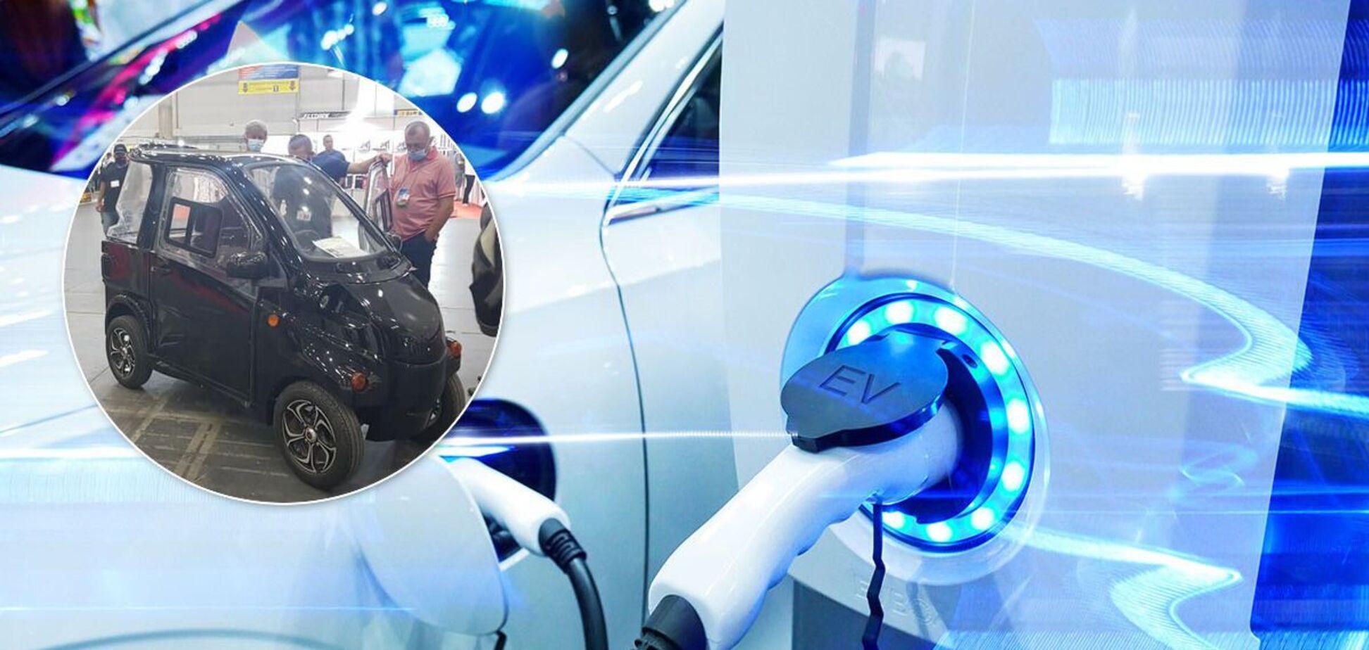Украинский электромобиль предлагает запас хода 120 км