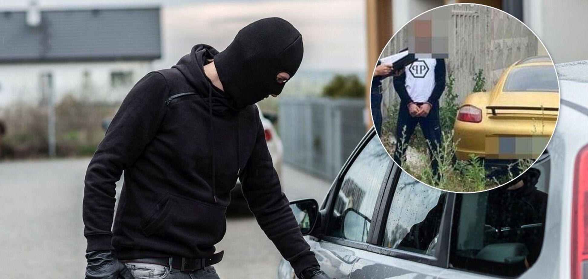 Украинец придумал необычный способ угона авто без взлома