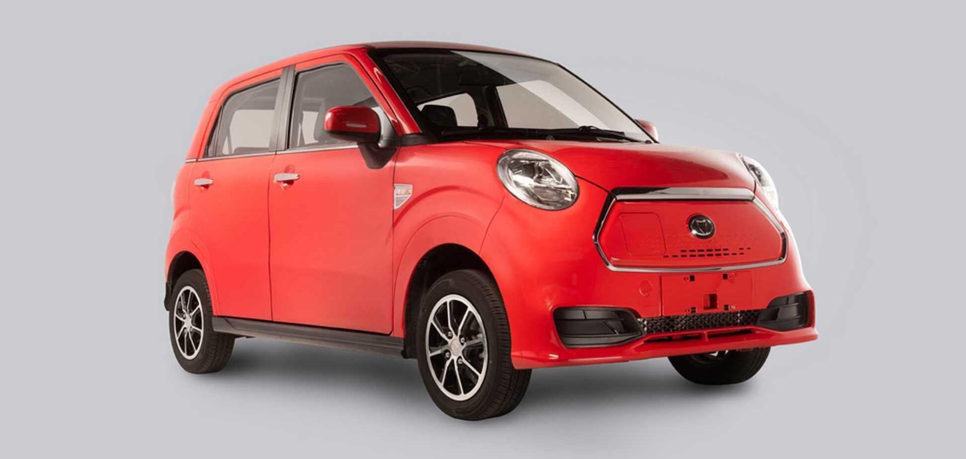 У продаж надійшов дуже дешевий китайський електромобіль. Фото: firstgear.ua