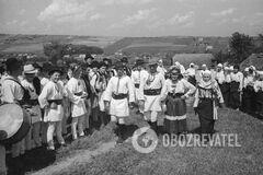 Буковинская свадьба в Украине