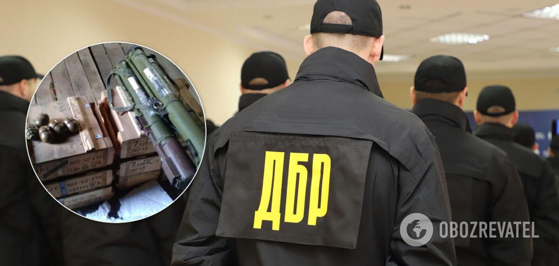 ДБР викрило вивезення боєприпасів із району проведення ООС