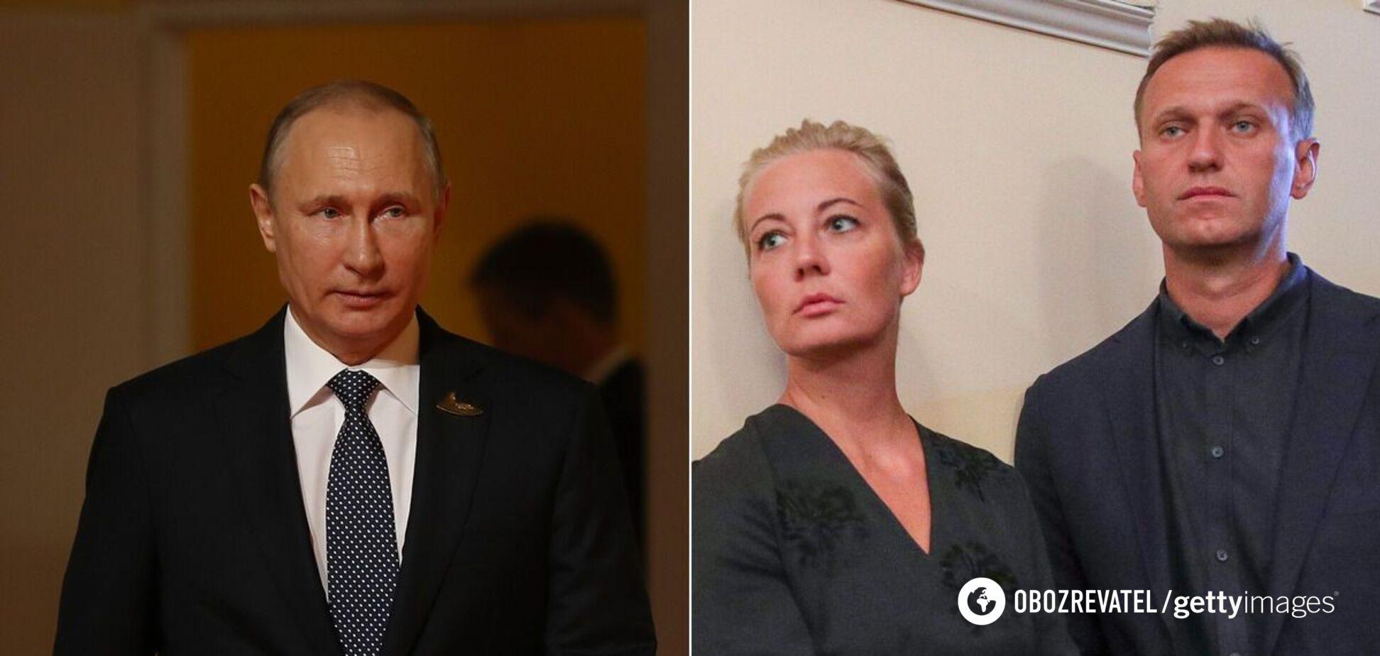 Жена Навального написала письмо Путину