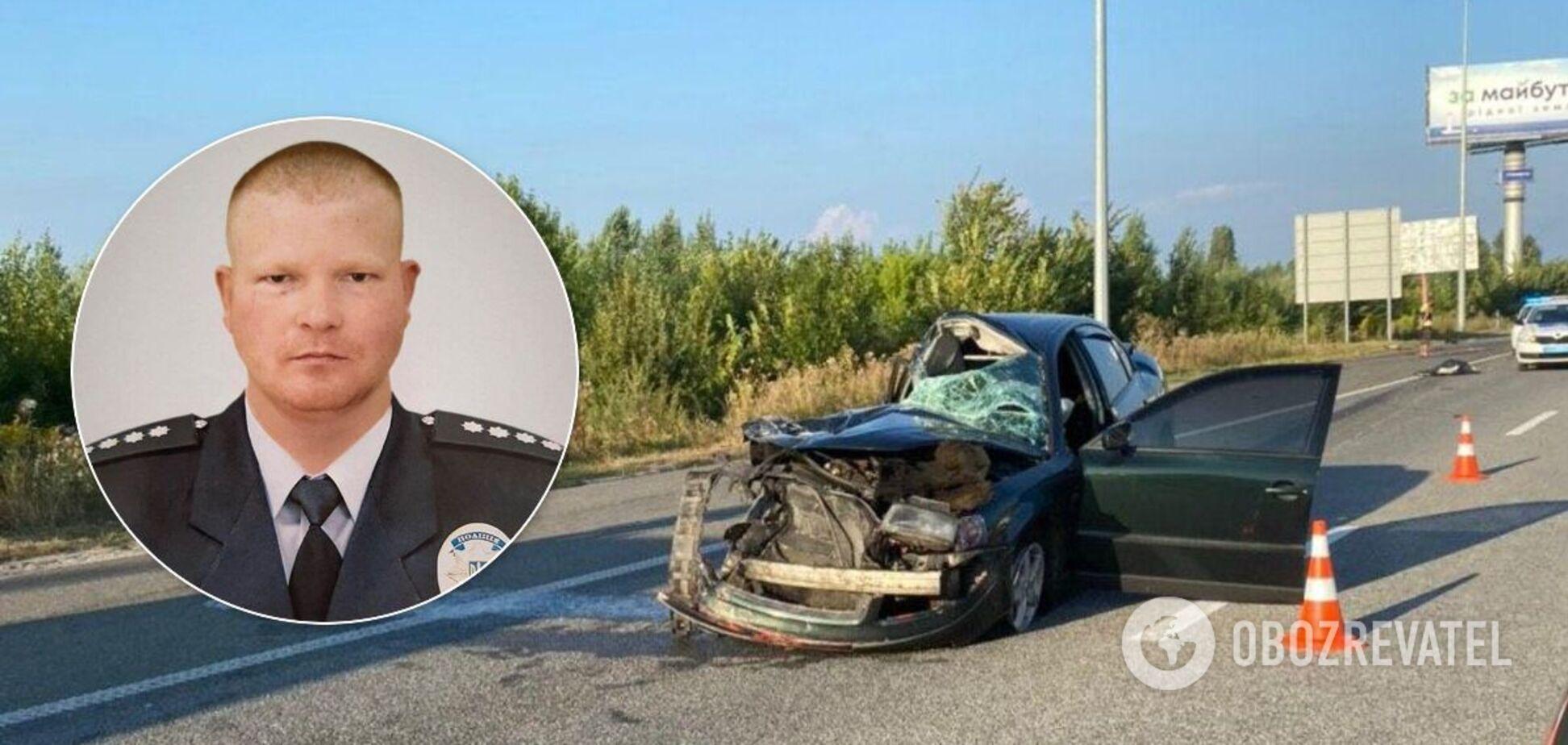 Поліцейський Іван Подольский загинув у ДТП під Києвом