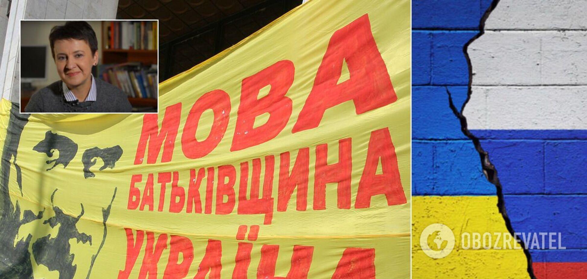 Оксана Забужко рассказала об украинском языке и войне с Россией