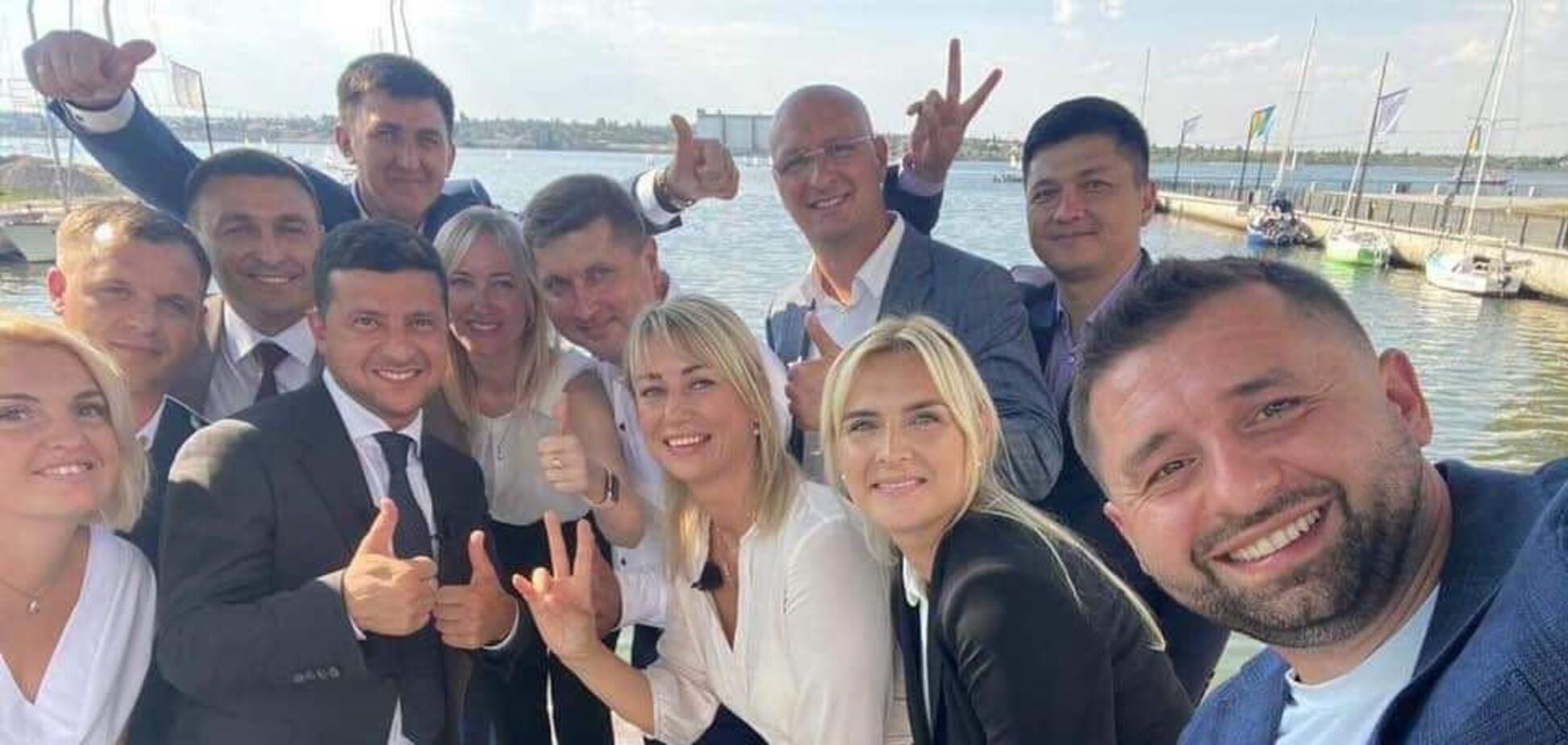 У Миколаєві презентували список кандидатів від 'Слуги народу' до міської ради