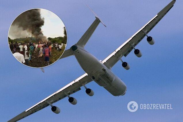 В Южном Судане разбился грузовой самолет