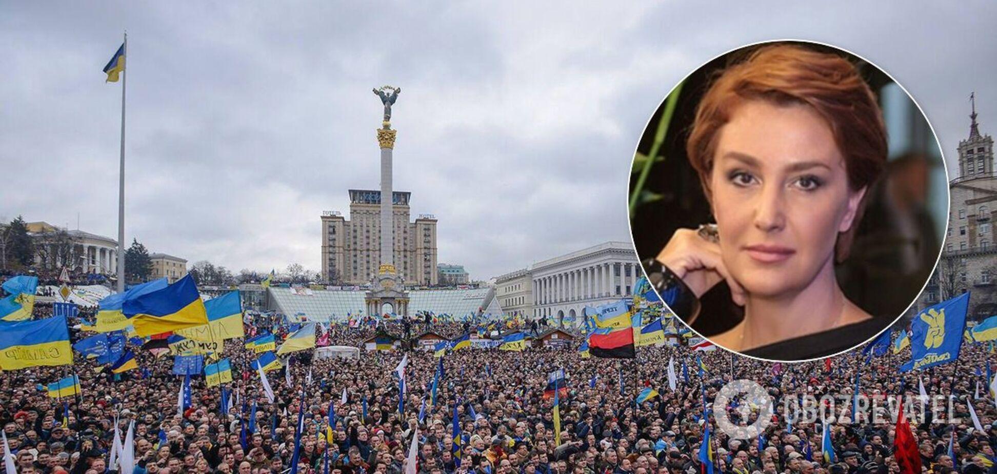 Антиукраїнські інтерв'ю Єгорової, або 'Про аборти на Майдані'
