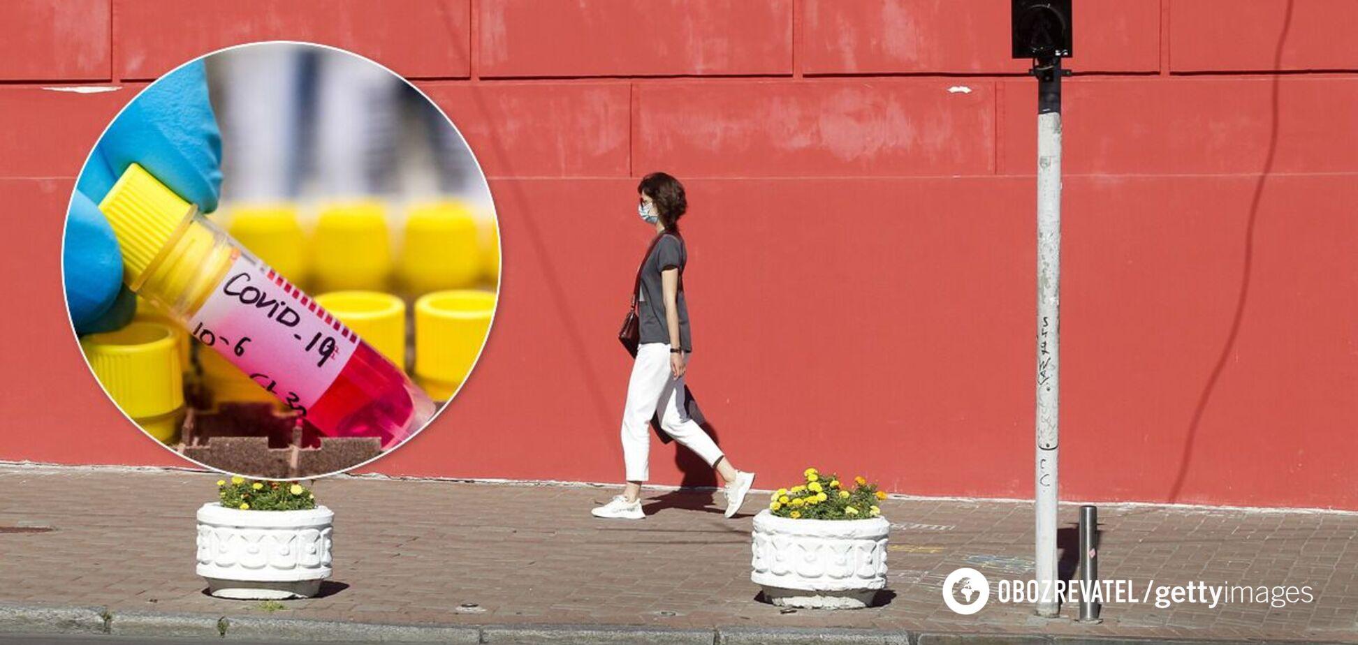 В Украине прибавилось еще почти 2 тысячи зараженных коронавирусом