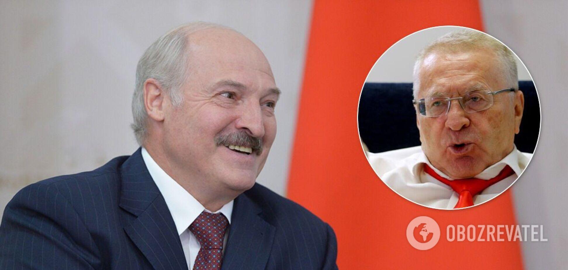Жириновский предлагает сделать Лукашенко вице-премьером РФ по сельскому хозяйству