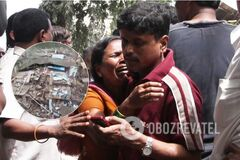 В Индии обрушилась многоэтажка
