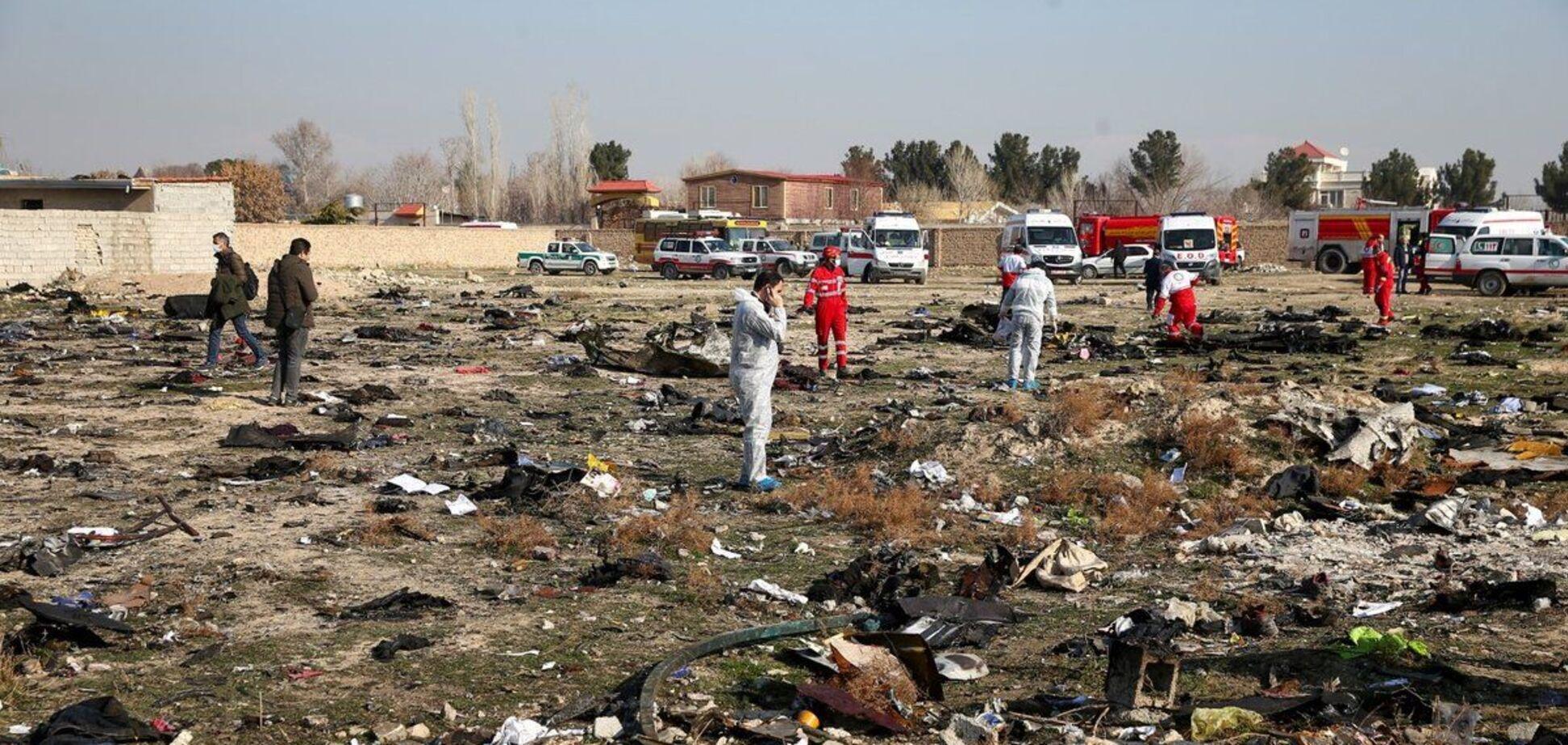 Катастрофа Boeing 737 под Тегераном