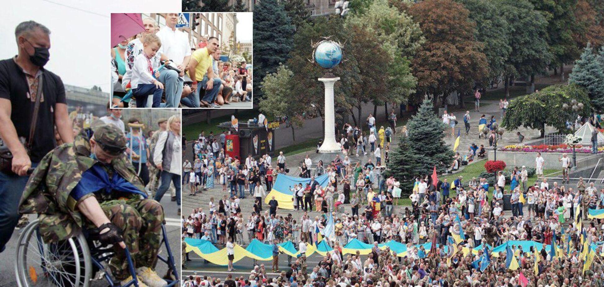 У Києві пройшов Марш захисників