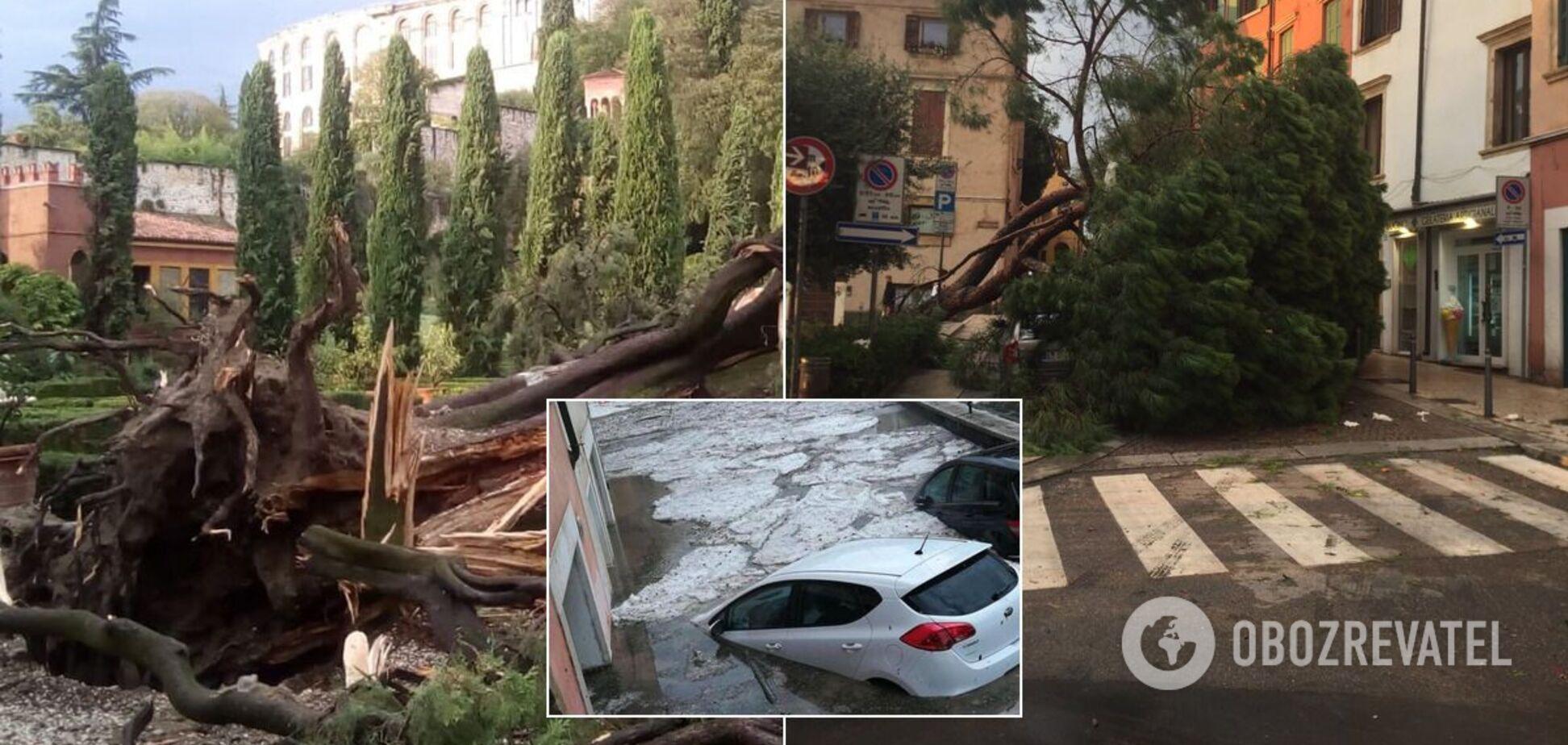 Последствия урагана в Италии