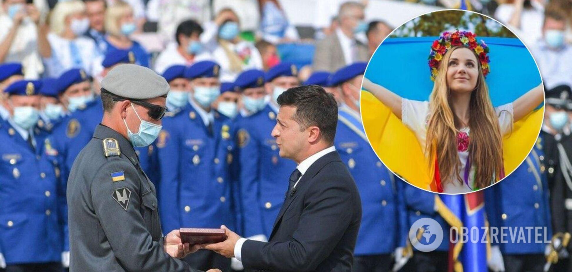 Украина отпраздновала День Независимости: все подробности, фото и видео
