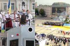 Українські зірки виконали попурі з відомих хітів на День Незалежності
