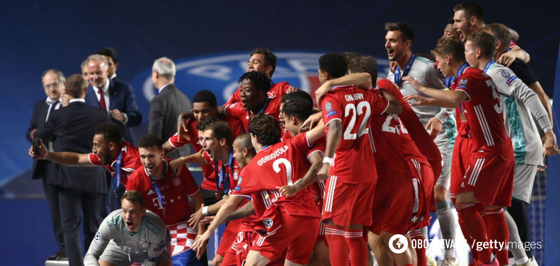 Баварія виграла Лігу чемпіонів ушосте