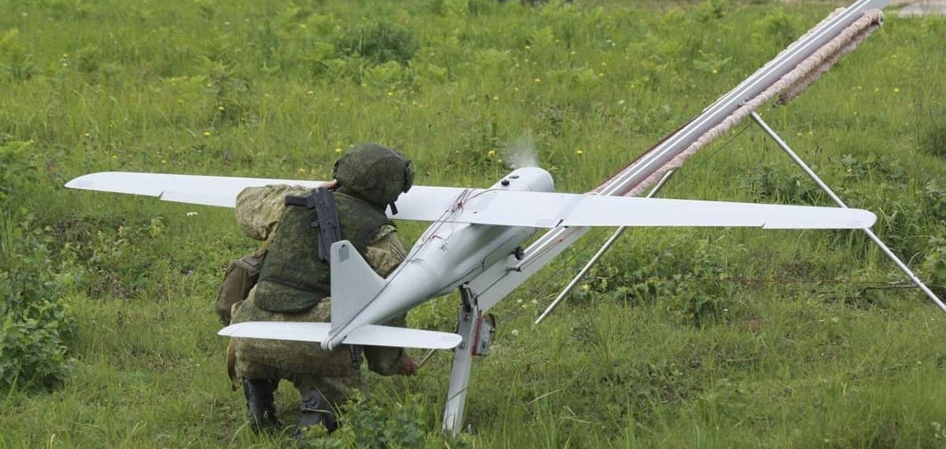 Терористи скинули ВОГ-17 на ОС з БПЛА