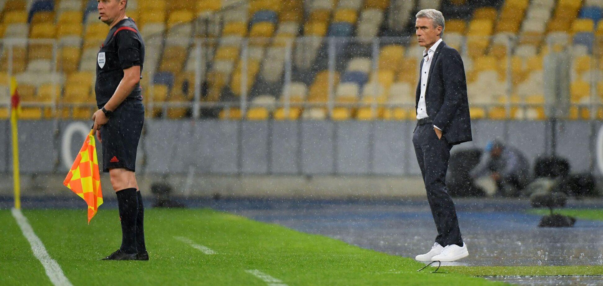 Каштру прокомментировал поражение от 'Динамо', посетовав на несправедливость