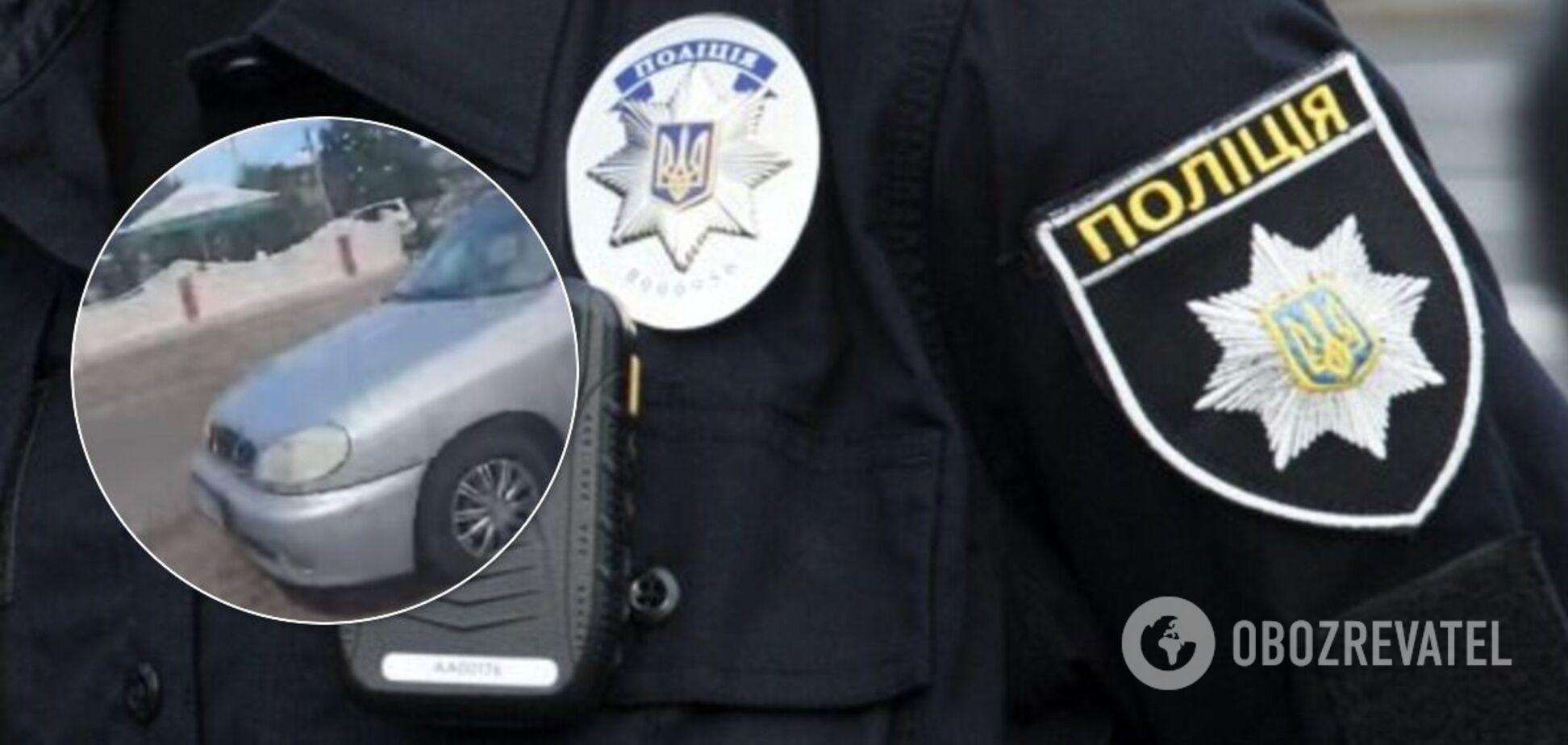 На Київщині 12-річного підлітка спіймали за кермом авто. Ілюстрація