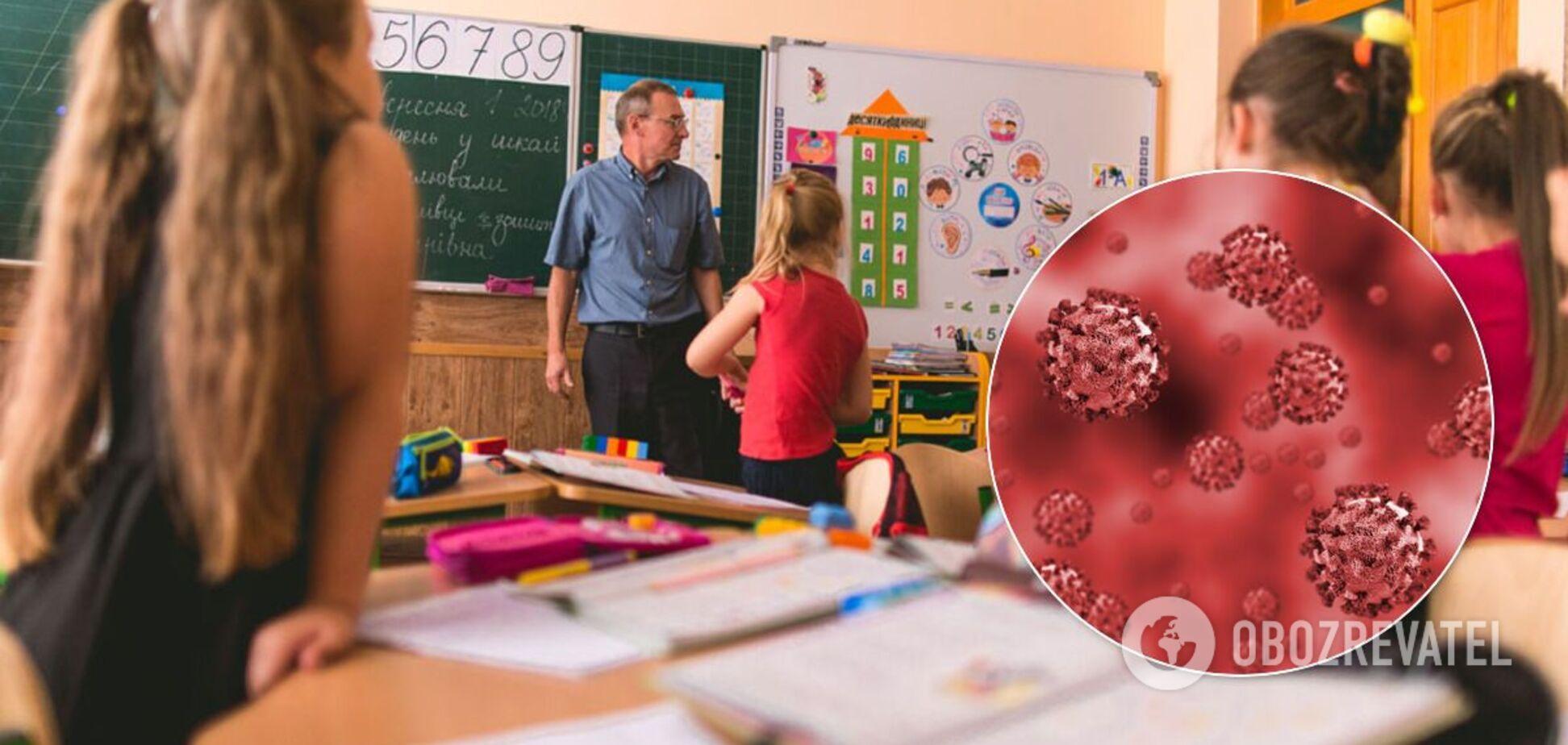 Протиепідемічні заходи в школах змінили через коронавірус