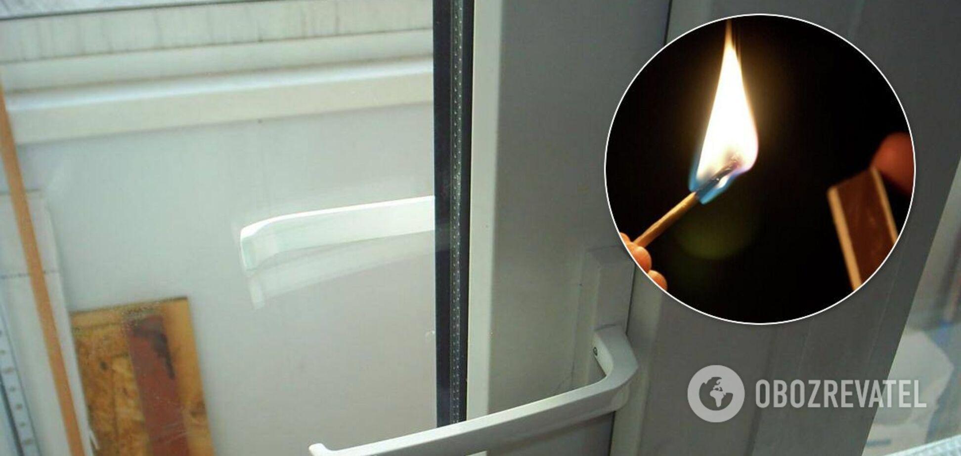 У Дніпрі закрита п'яною матір'ю на балконі дитина влаштувала пожежу