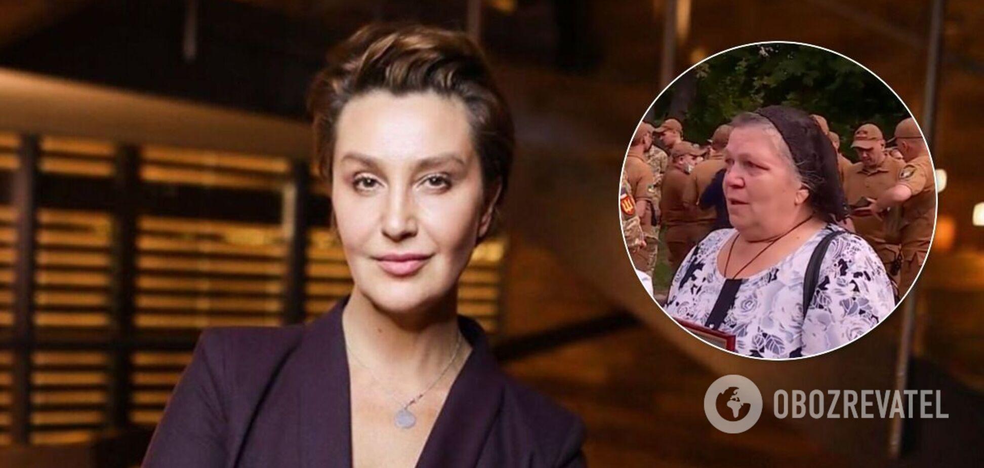 Мати кіборга Дениса Поповича відповіла Сніжані Єгоровій