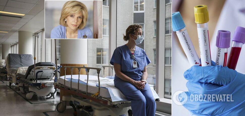 В Україні за кілька тижнів COVID-19 можуть заражатися по 3000 на добу, лікарням потрібні нові ліжка, – Богомолець