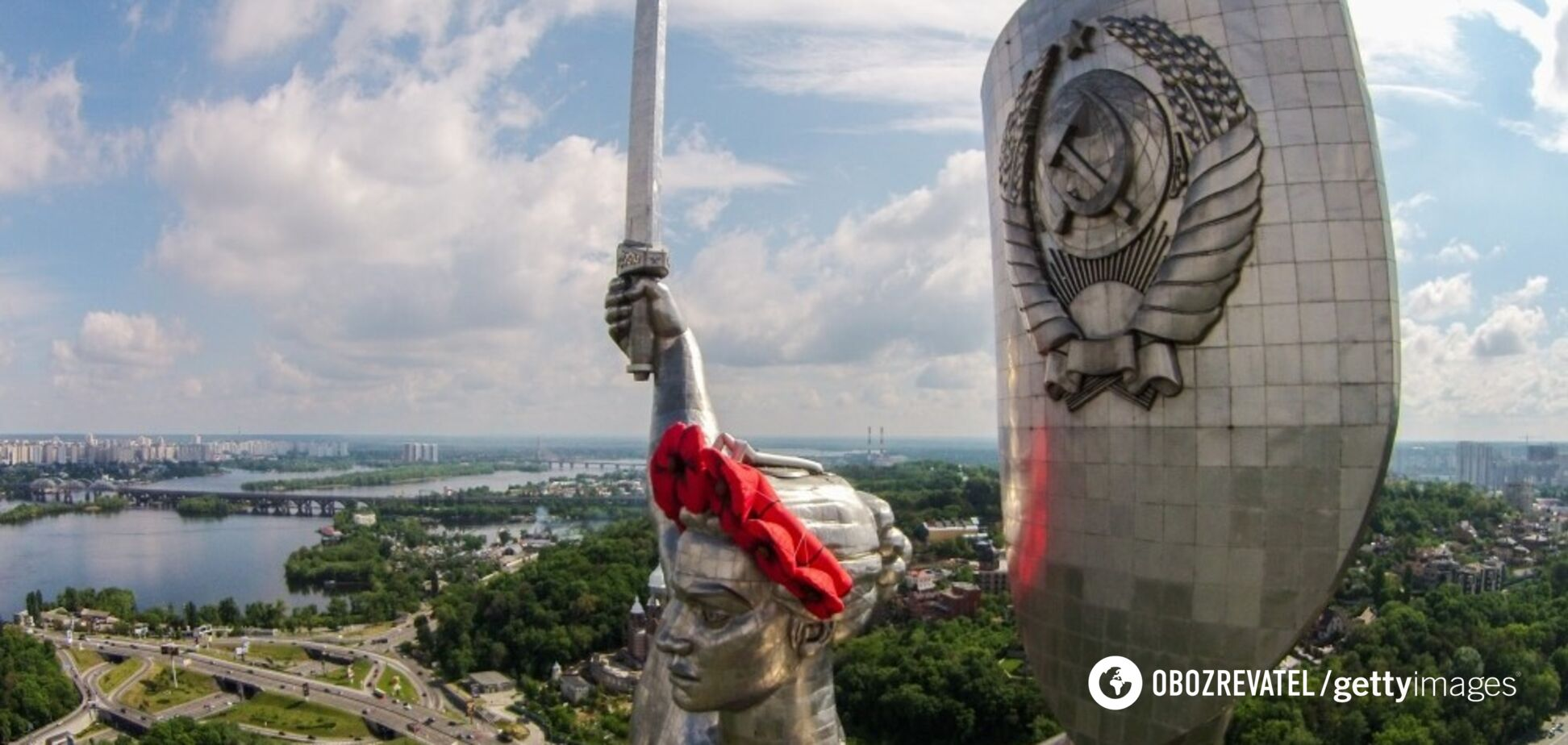В Інституті нацпам'яті озвучили пропозиції щодо радянських пам'ятників у Києві, йдеться і про герб на 'Батьківщині-Матері'