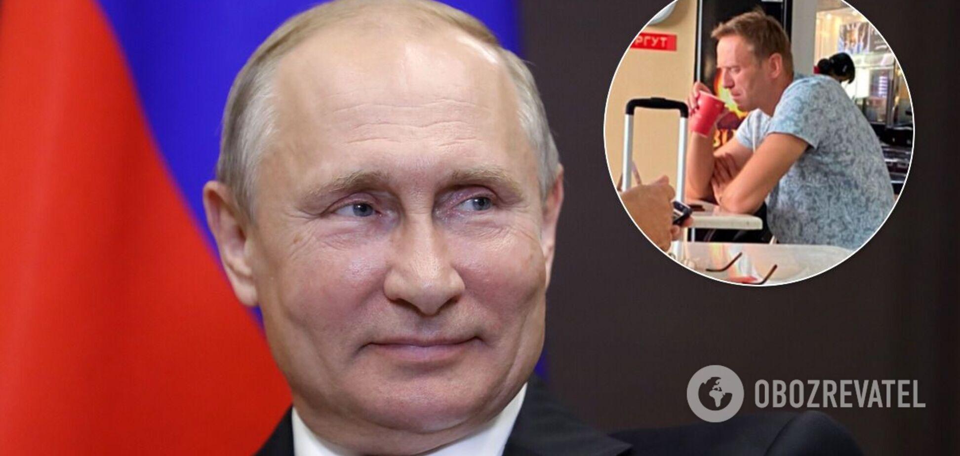 Владимир Путин и Алексей Навальный