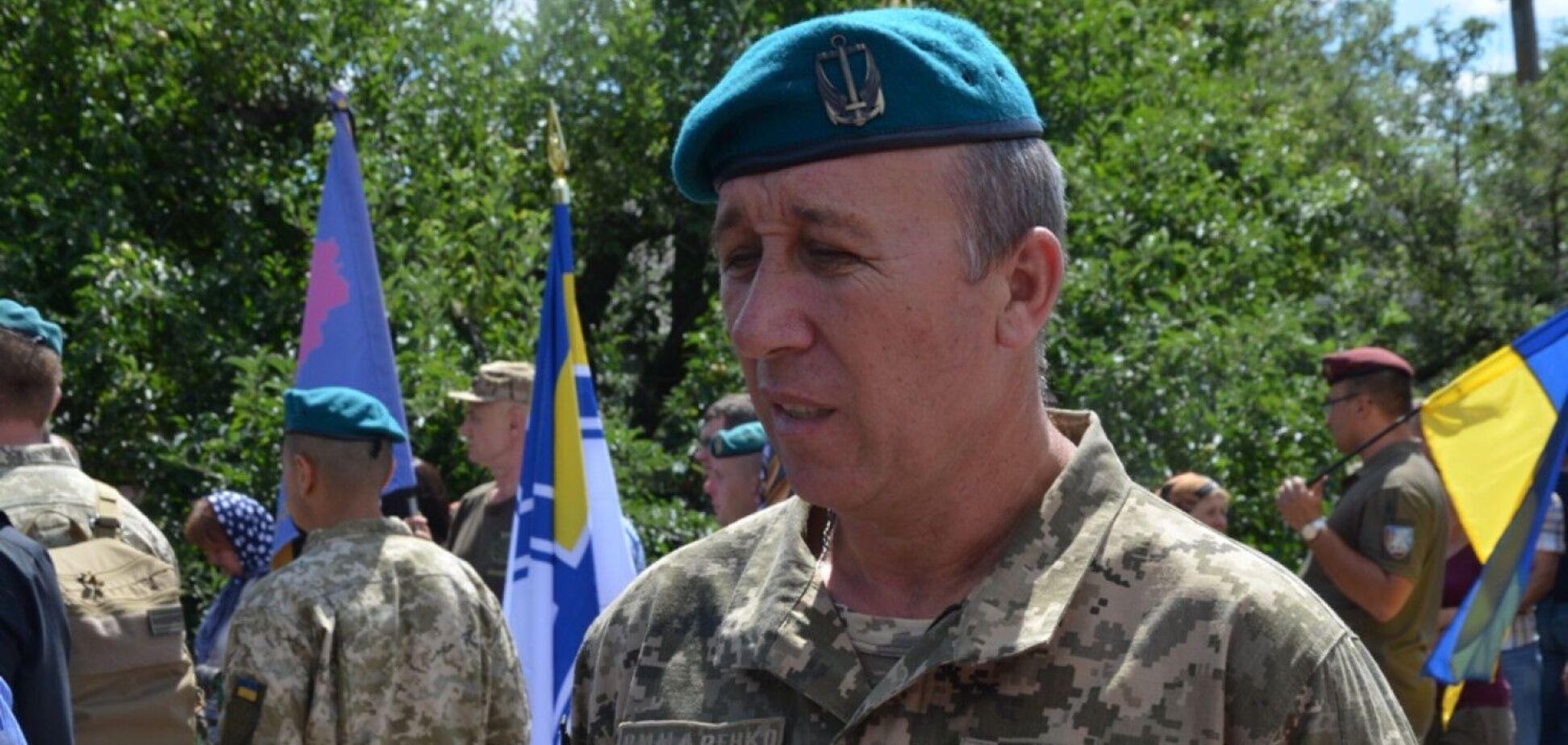 На Донбасі поранили командира 137-го батальйону морської піхоти Римаренка