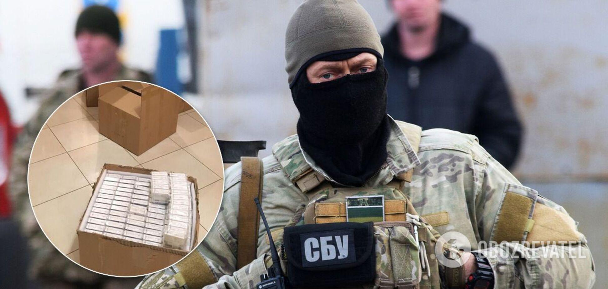 СБУ пресекла деятельность группировки, которая занималась контрабандой сильнодействующих веществ