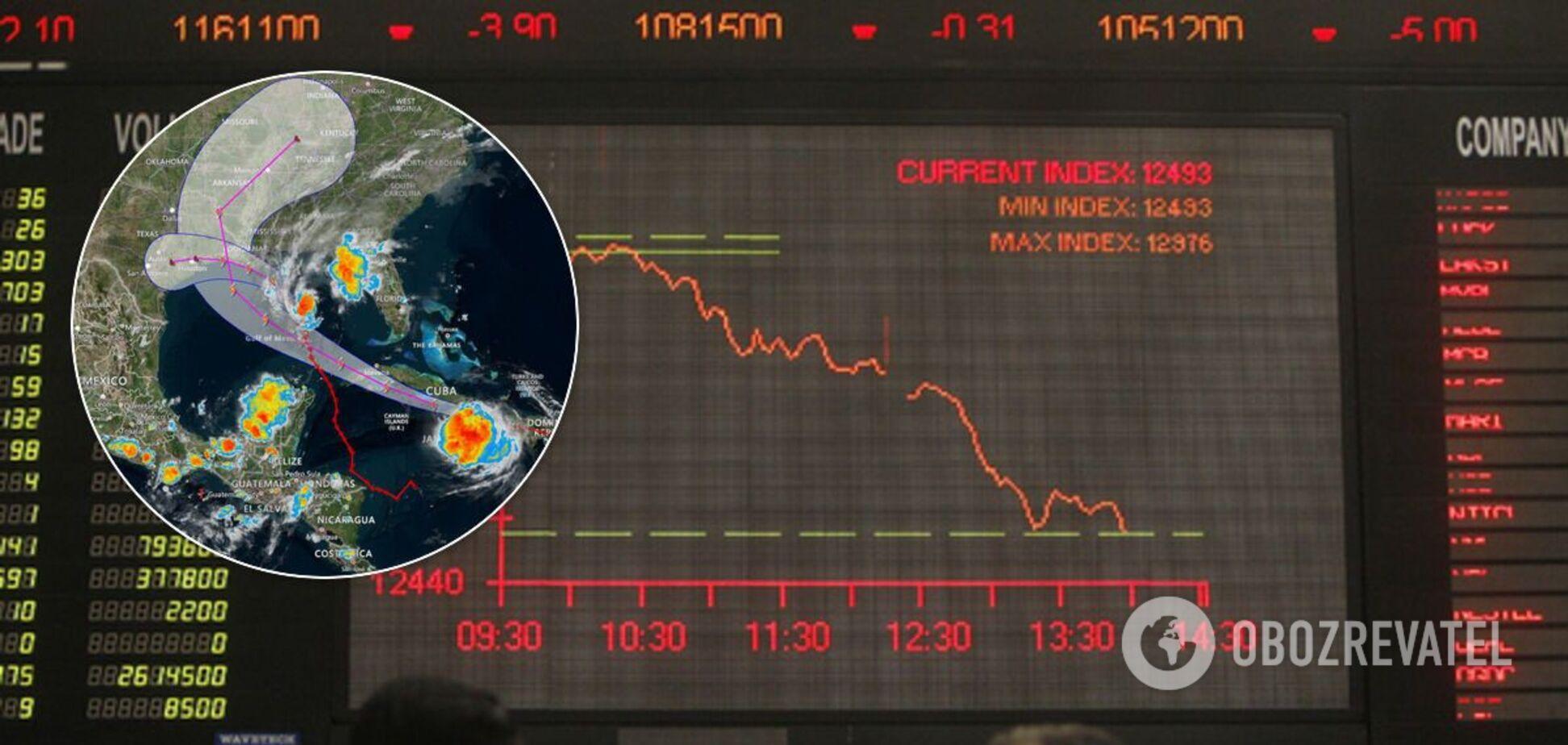 Ціни на нафту коливаються через ураган у Мексиканській затоці