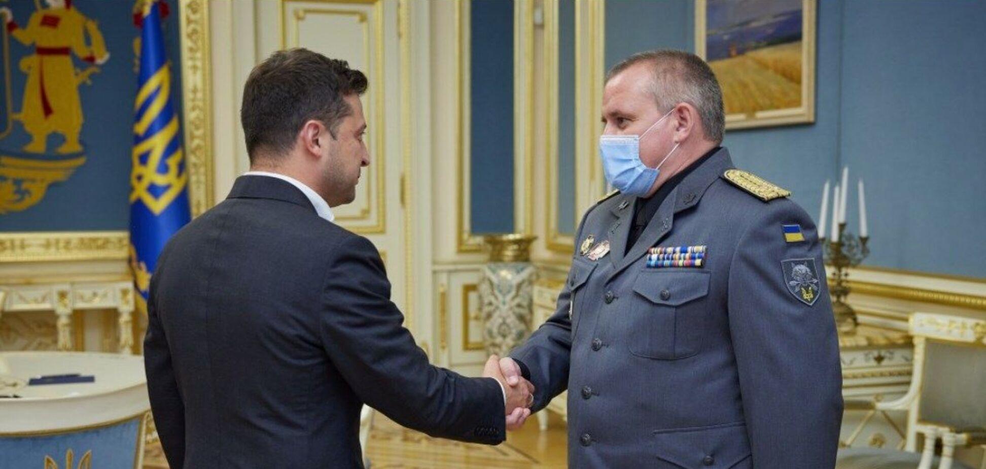 Зеленський призначив Галагана командувачем ССО