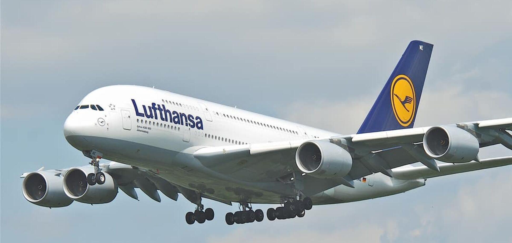 Поменять билет Lufthansa можно без штрафа