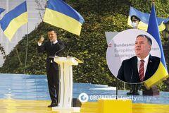 Зеленський подякував США за підтримку України.