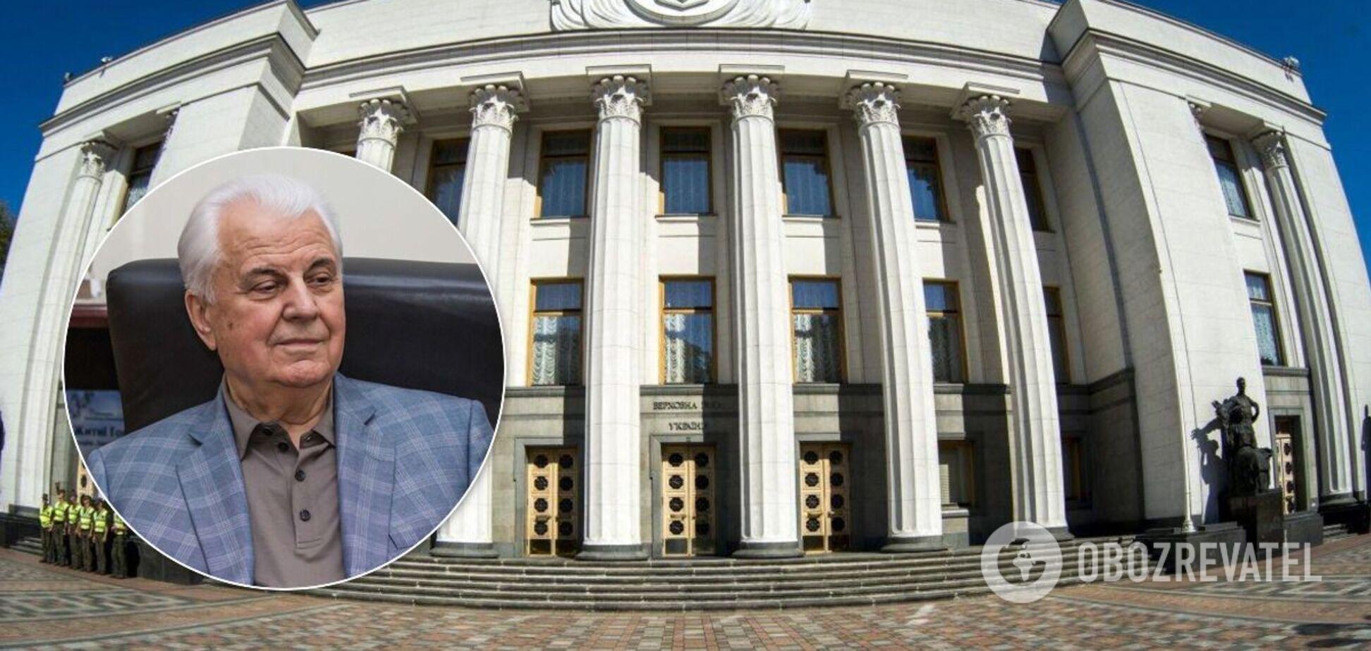 Говорили про переговори з маріонетками РФ і 'синхронізації', – нардеп про закриту зустріч з Кравчуком