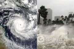 Тайфун 'Хайшен' обрушился на Южную Корею
