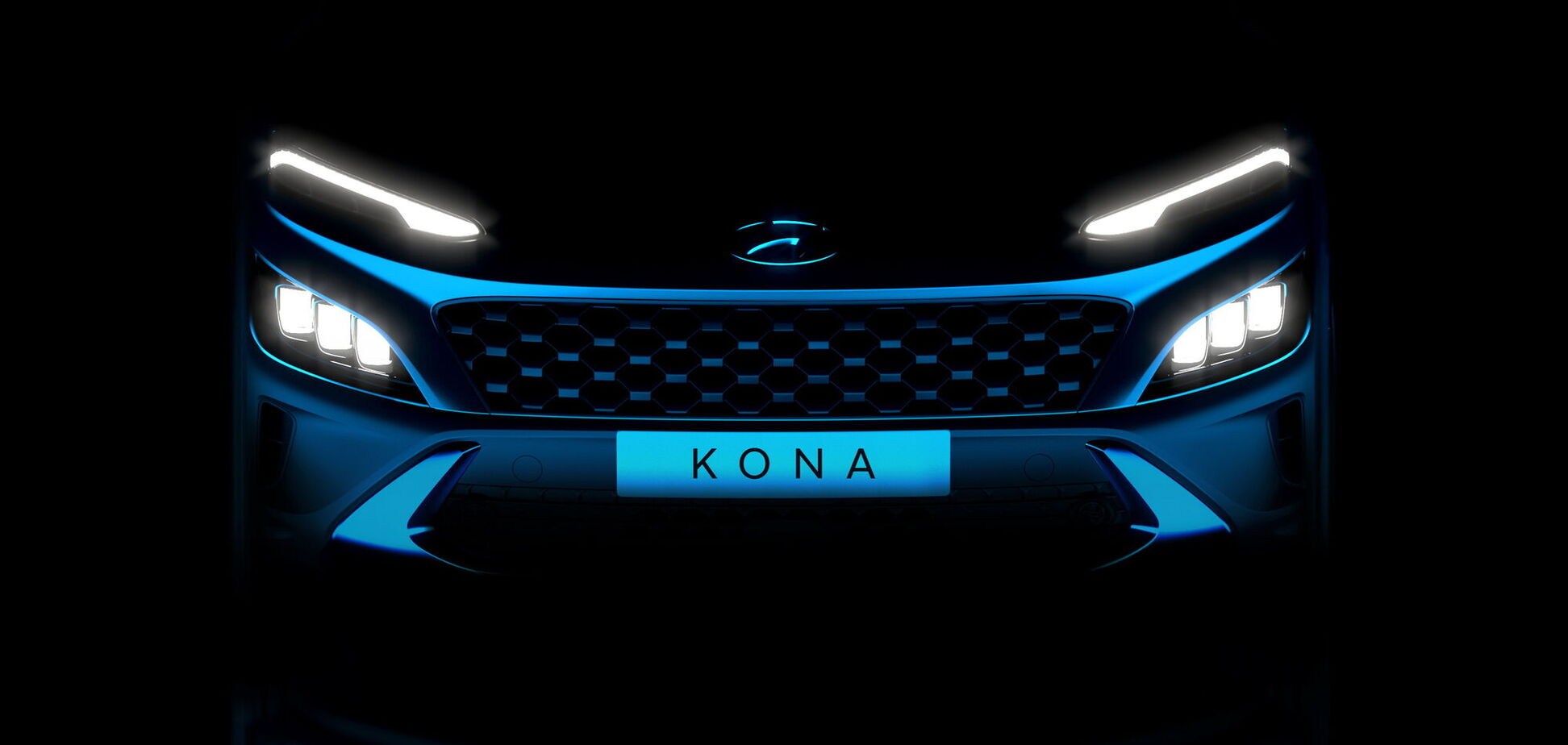 Обновленный кроссовер Hyundai Kona готовится к дебюту