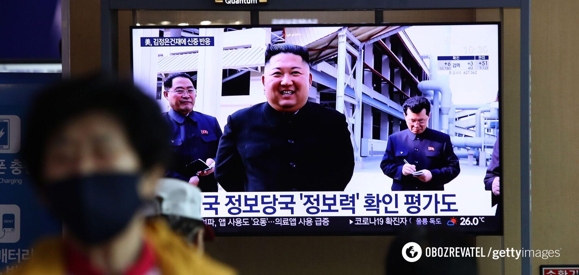 Кім Чен Ин з'явився на публіці