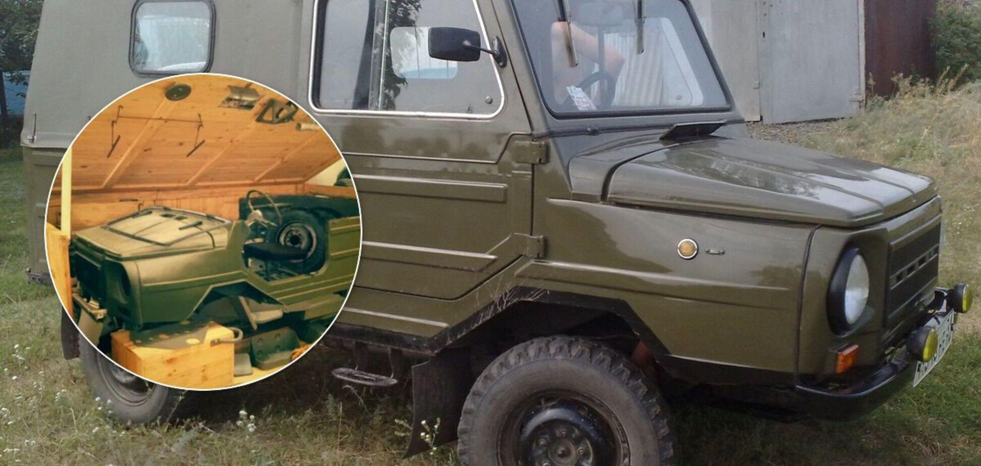 Новий ЛуАЗ продають в Україні в коробці