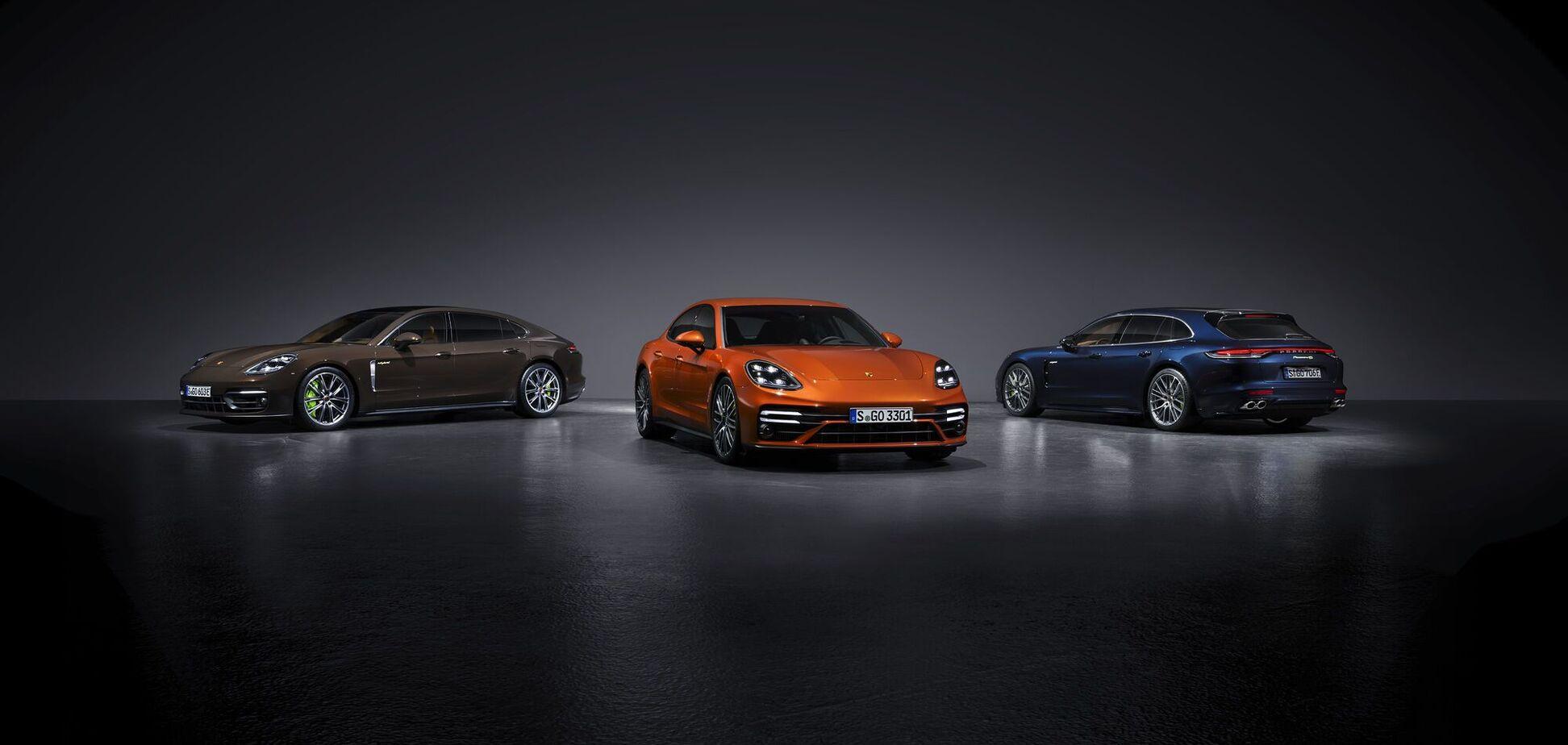 Porsche представила новий гібрид і найпотужнішу Panamera