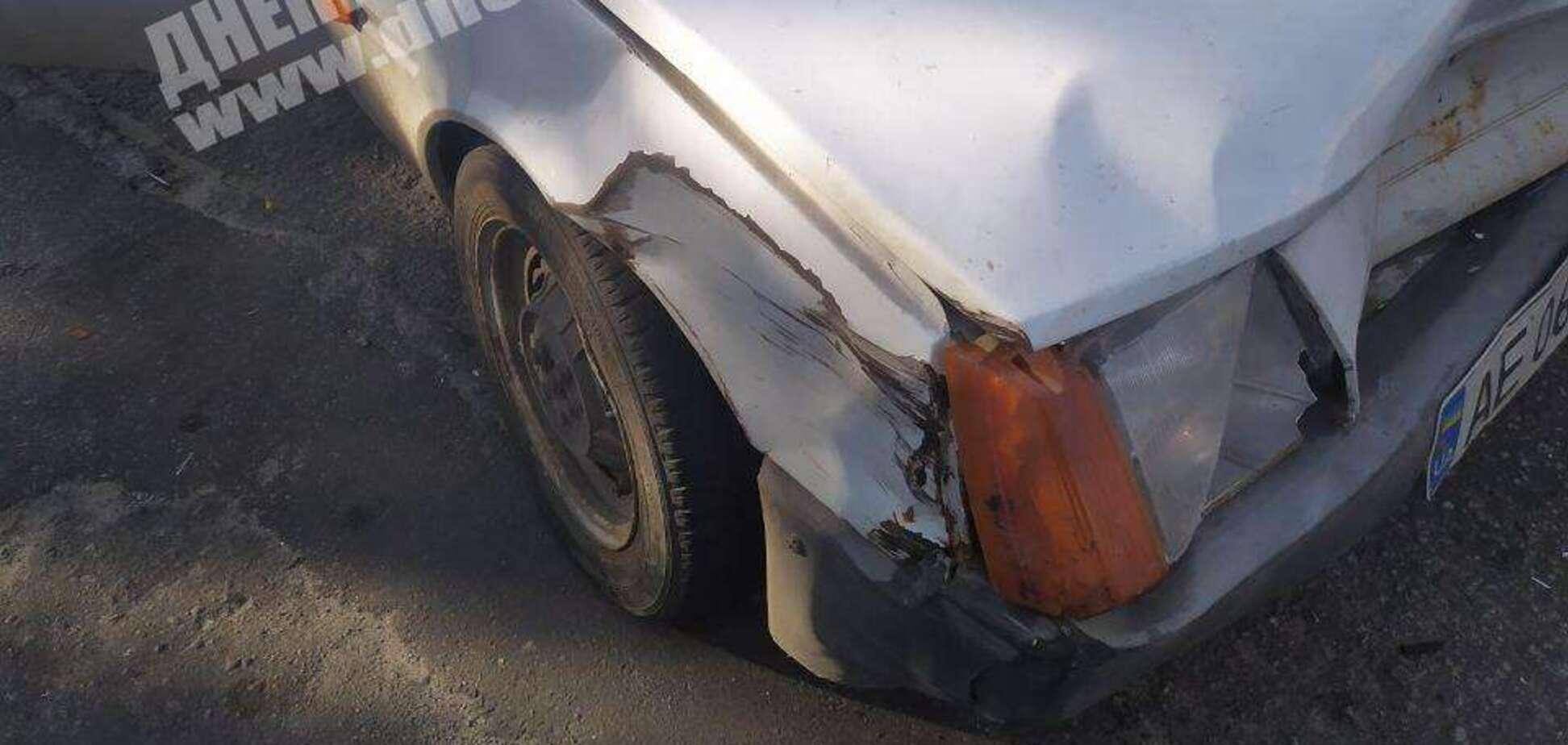 У Дніпрі на Калиновій зіткнулися два легковики: є постраждала