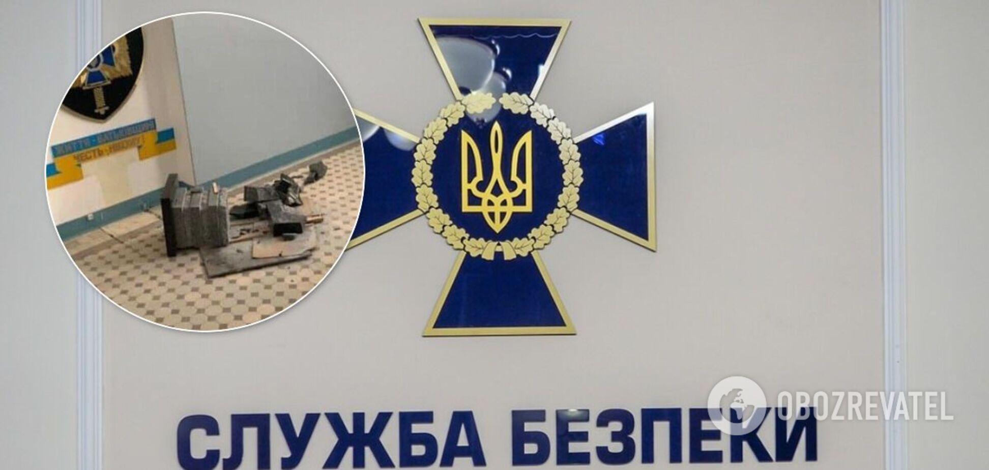 СБУ снова обвинили во лжи по поводу уничтожения мемориальной плиты