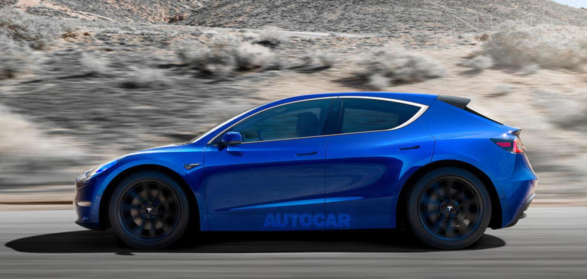 Новий дешевий електромобіль Tesla кине виклик Volkswagen