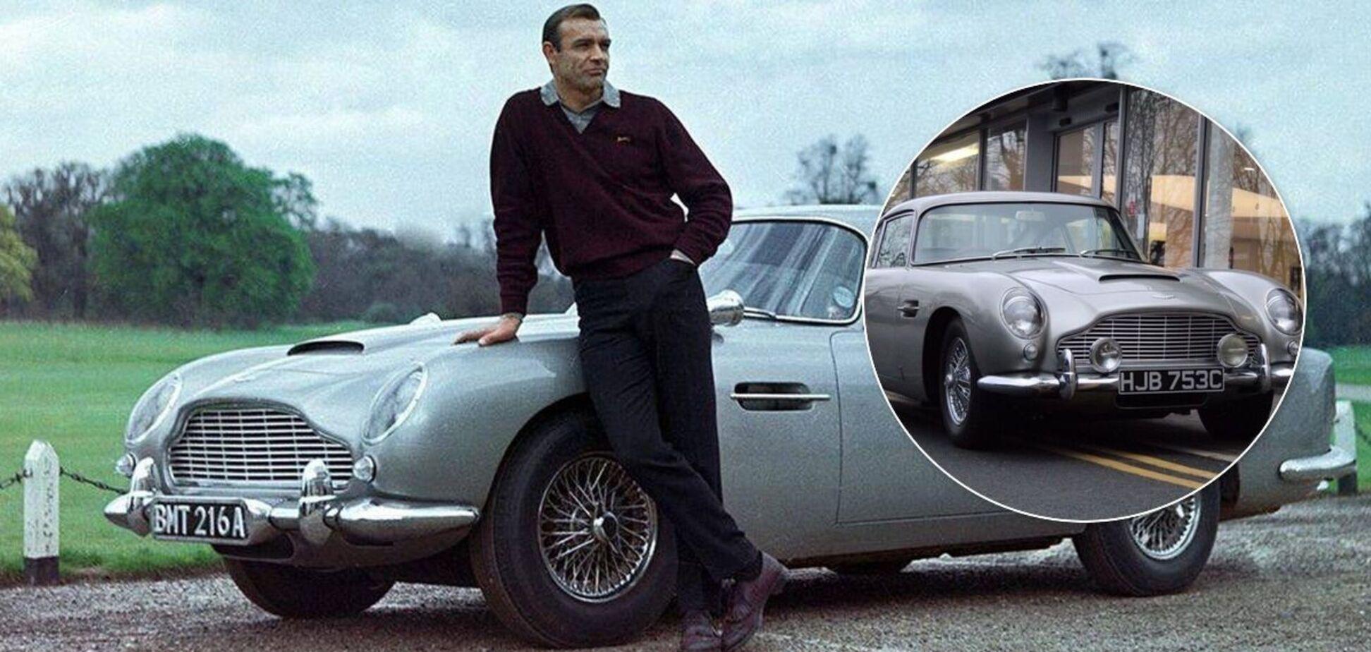 Поліція шукає Aston Martin DB5 1965 року