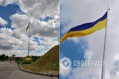 Кличко прокомментировал 'повреждение' главного флага Украины