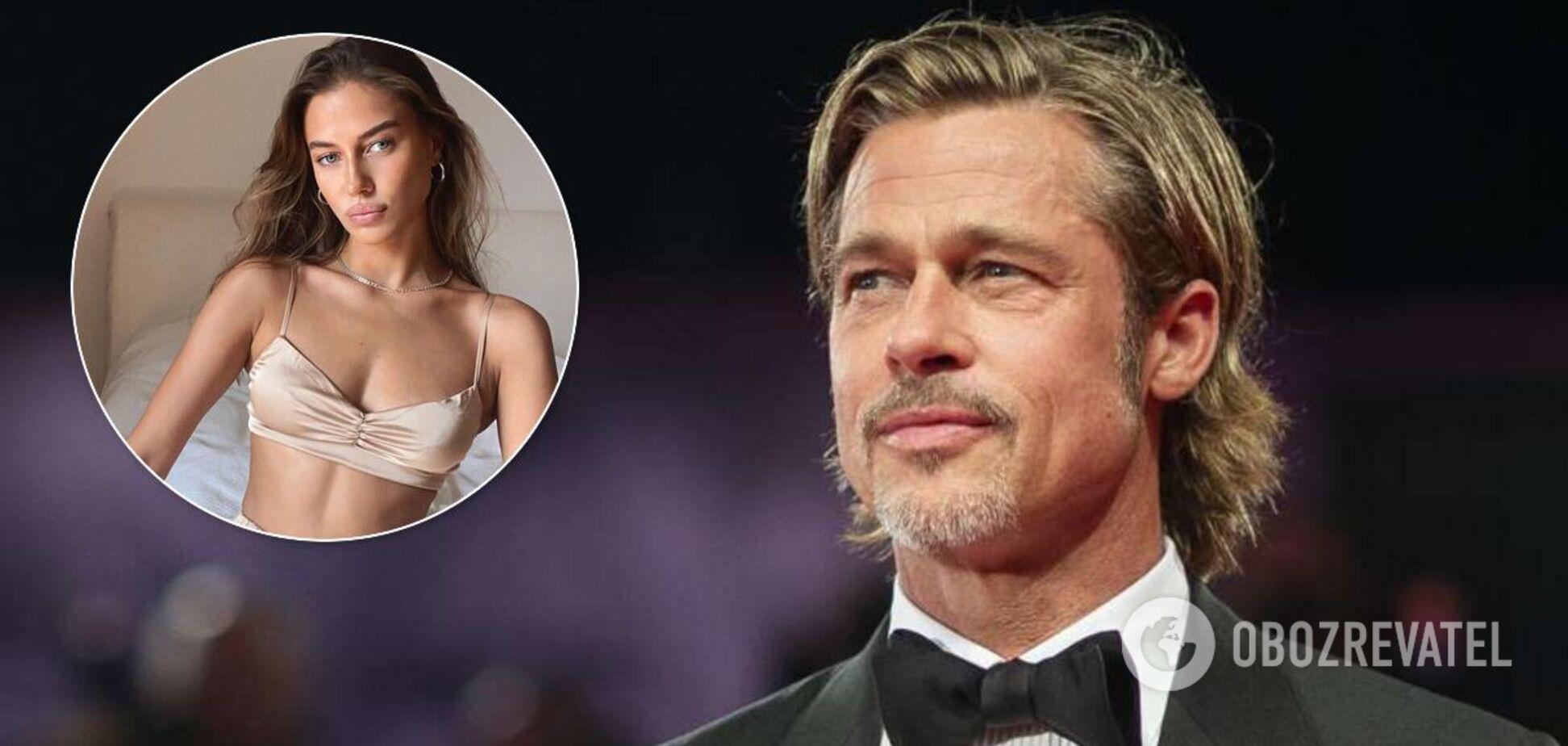 Брэд Питт закрутил роман с 27-летней 'копией' Джоли: как выглядит девушка