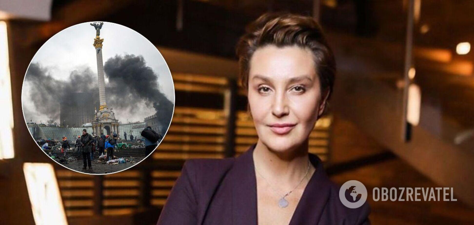 Сніжана Єгорова відзначилася заявою про Майдан