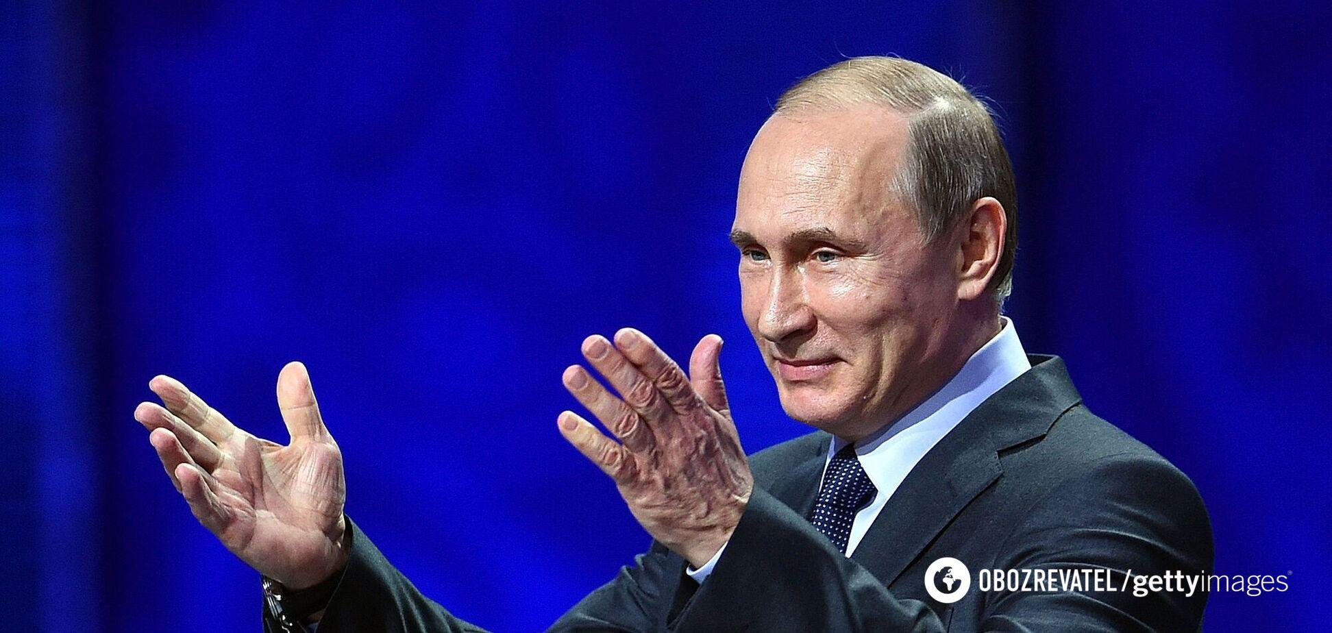 Путін звинуватив спецслужби України і США в 'провокації з 'вагнерівцями'
